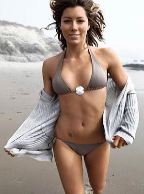 Jessica Biel GQ Bikini Shoot  Jessica Biel