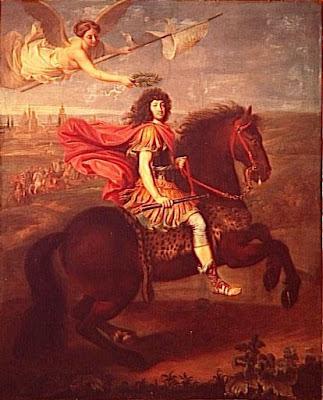 Pierre+Mignard+%28%C3%A9cole%29,+Louis+XIV,+roi+de+France+et+de+Navarre+%281638-1715%29