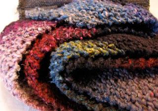 Lula Louise: Knit Bias Scarf Pattern