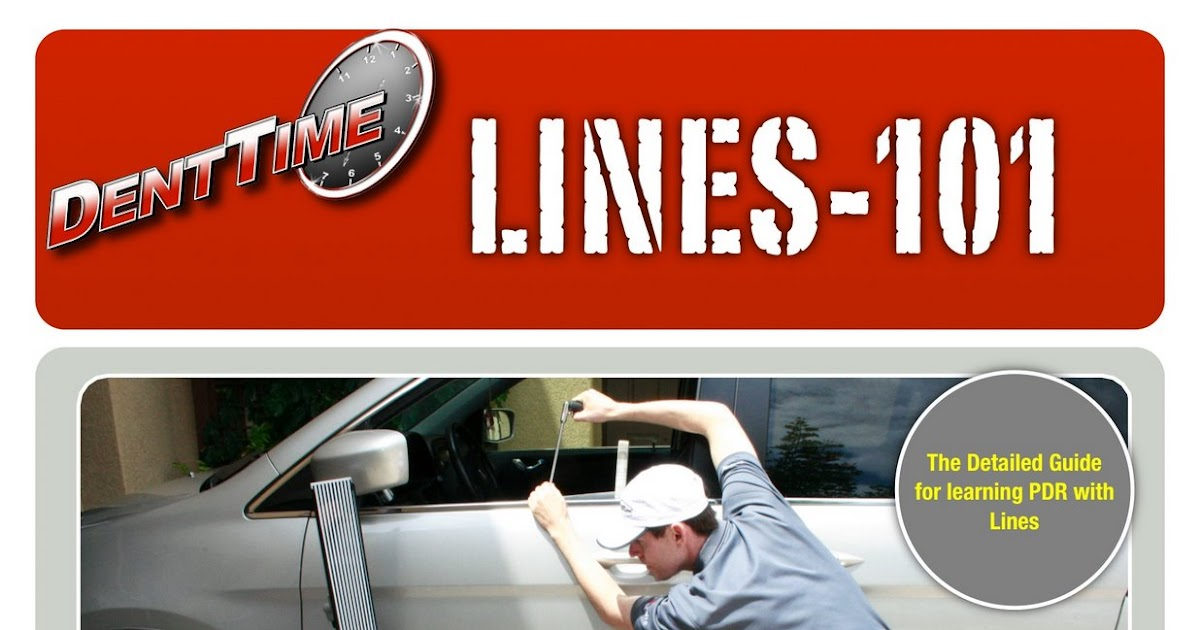 how to make lines for pdr line board