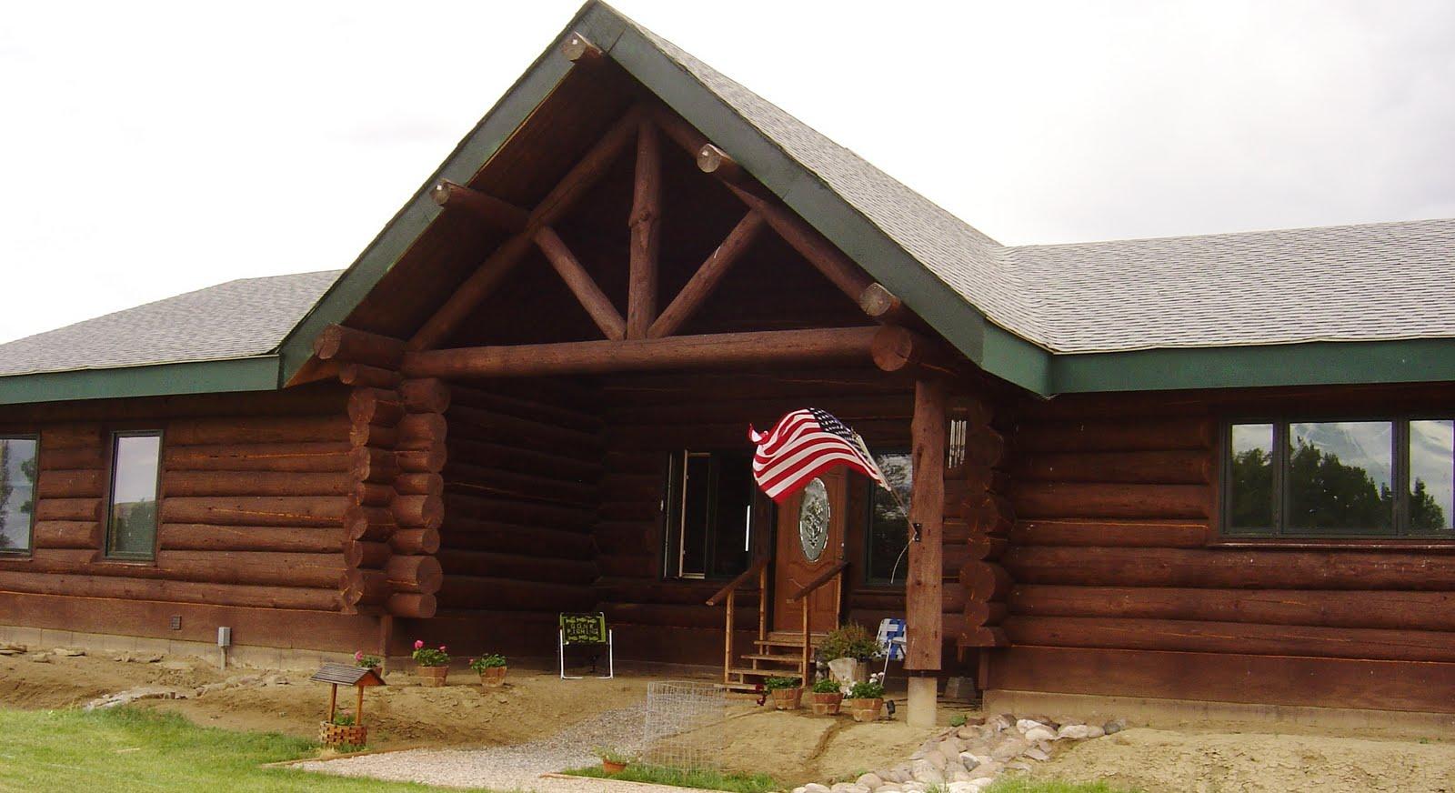 Cabin Siding Natural Home Design
