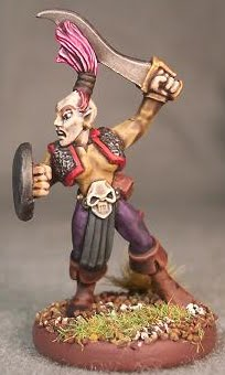 Dark Elf Scout Second in Command