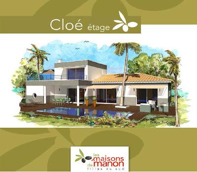 les maisons de manon cloe 90 20 m et 110 25 m. Black Bedroom Furniture Sets. Home Design Ideas