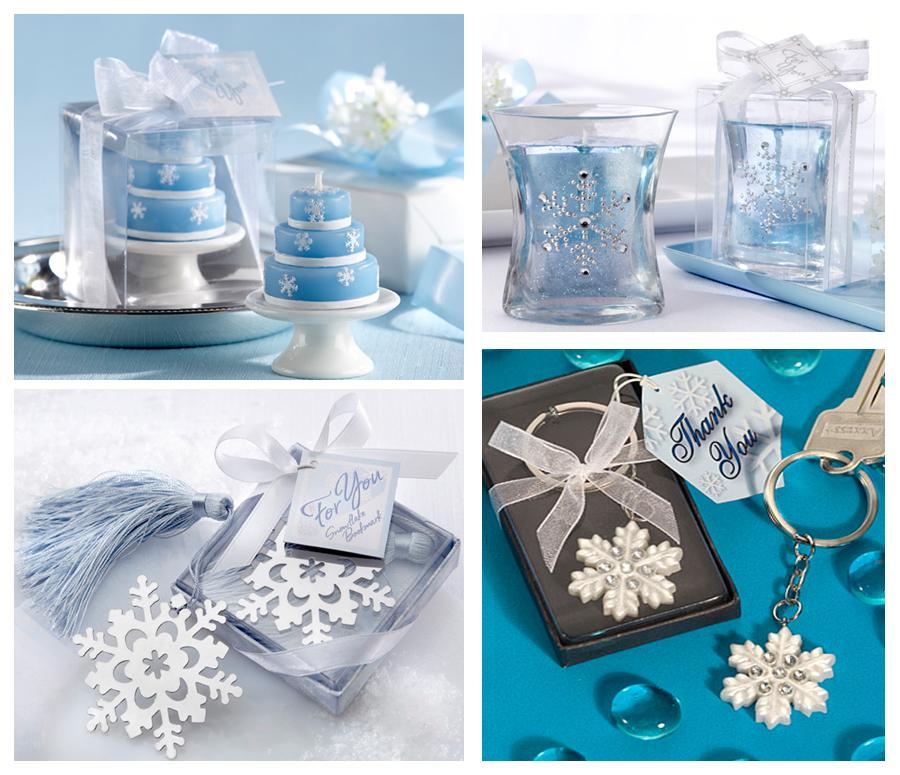 Snowflake Wedding Favors
