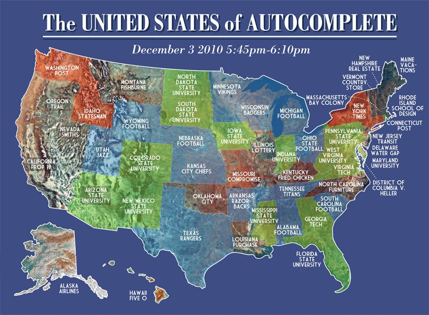 Floatingsheep Guest Map The United States Of Autocomplete