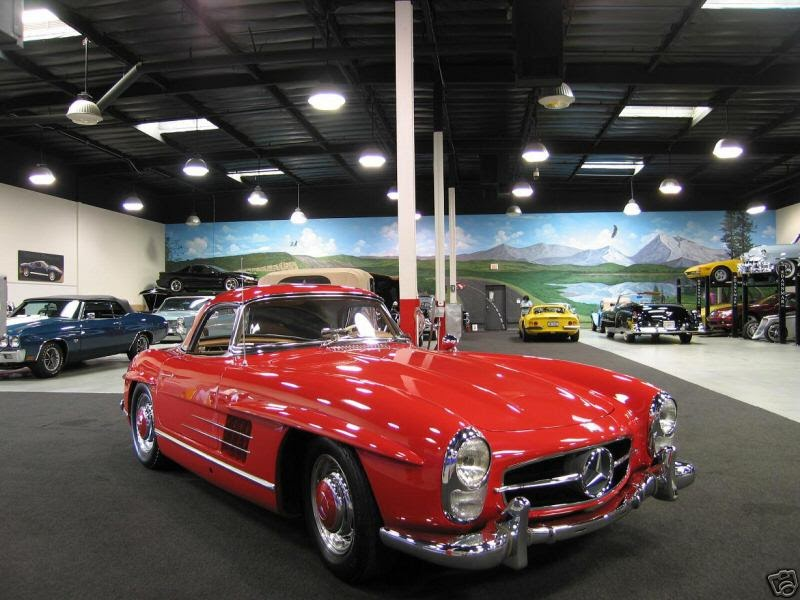 Luxury car auctions 1960 mercedes benz sl class roadster for San juan capistrano mercedes benz