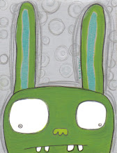 Message From The Shy Green Bunny: