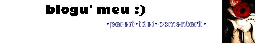 blogu' meu :)