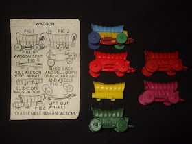 VINTAGE  50S//60S KELLOGGS CEREAL PREMIUM  //// INDIAN on HORSE PUZZLE KEYCHAIN