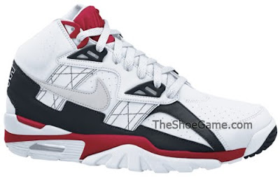 low priced 07d11 b30f3 Nike Air Trainer SC High White Grey Red