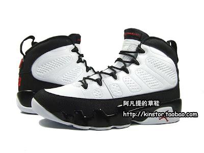 4d945f6fd54 TRS Blog: Air Jordan Retro 9 – White/Black-True Red