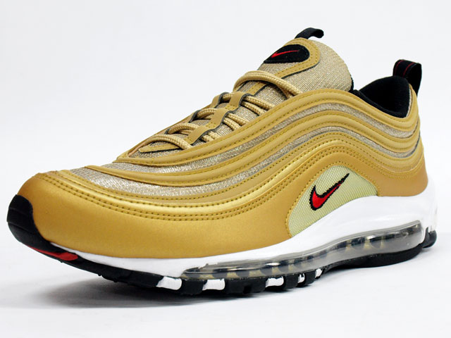 Trs Blog Nike Air Max 97 Le Metallic Gold Red White Black New Images