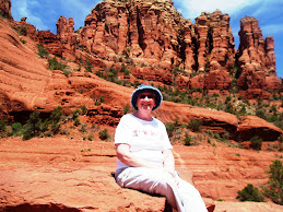 At Ease on Sedona Red Rocks