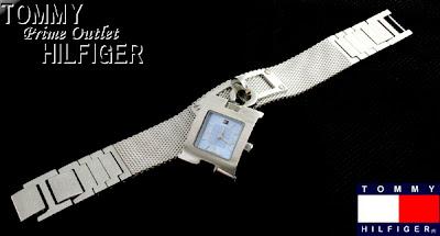 5a5f133d7699 RELOJ TOMMY HILFIGER MUJER Reloj Informal Malla metalica tipo cadena