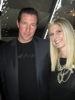 Marla Malcolm Beck with Ed Burns