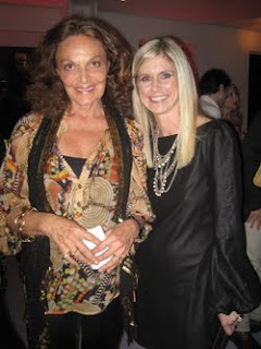 Marla Malcolm Beck with Diane Von  Furtenberg
