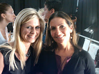 Marla Malcolm Beck and Bobbi Brown