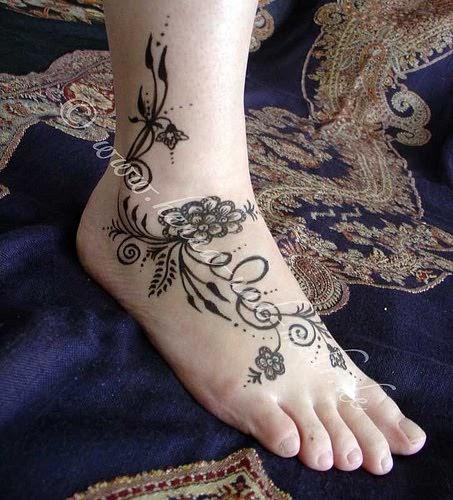 Tattoos Gallery: Tribal Flower Tattoo Designs