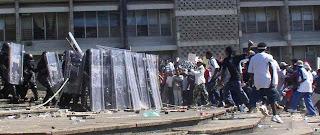 Mayfair riot