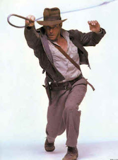 Photo: Indiana Jones flailing his whip