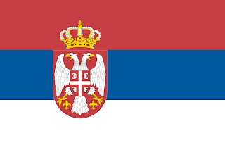 Drawing: Flag of Serbia