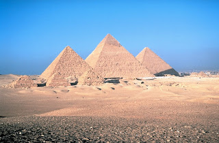 Photo: the Pyramids of Egypt
