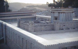 Photo: model of the Temple in Jerusalem
