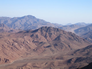 Photo: view of Mount Sinai