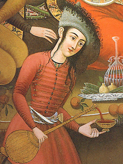 Picture: Courtly Persian wine-drinker