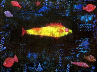 Resultado de imagem para peixe dourado paul klee