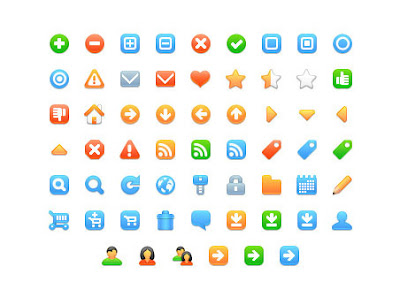 Free Fresh Web Development Icons