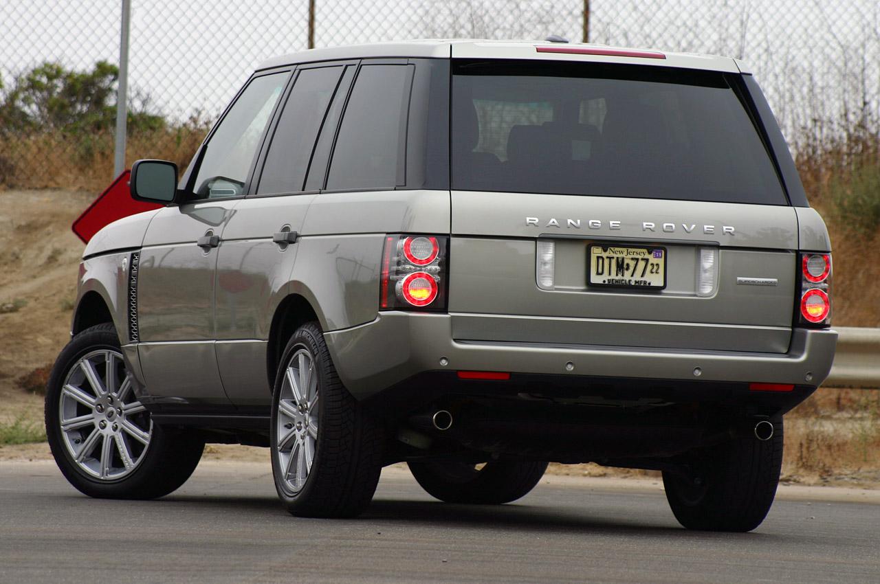 actualidad automotriz 2011 land rover range rover supercharged. Black Bedroom Furniture Sets. Home Design Ideas