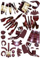 FULL IRONMAN 01 003, iron man üç boyutlu kartondan maket yapımı