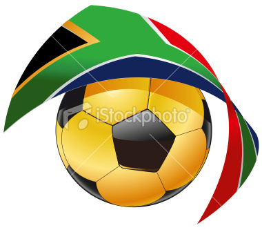 Soccer Ball World Cup 2010 South Afrika Royalty Free Stock Vector Art