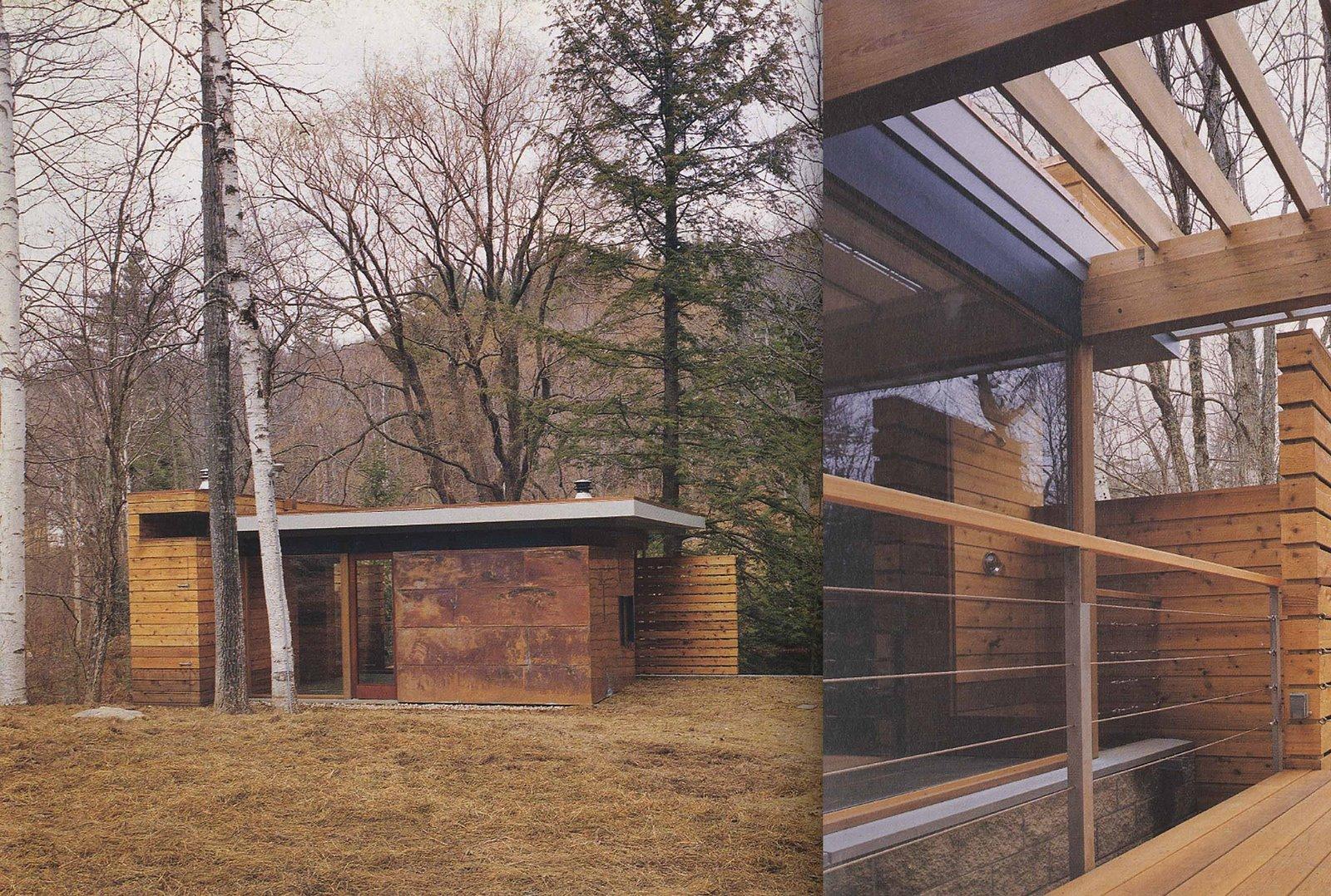 Onedesignaday Hot House Sauna Pavilion Massachusetts Usa