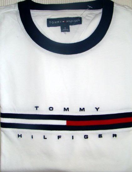 f4b2a6bb9f Fashion off-price  Roupa Masculina - Camiseta TOMMY HILFIGER - Branca