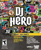dj hero, cover, poster, xbox, wii, nintendo, video, game