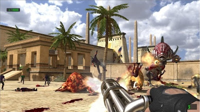 serious sam hd, xbox, pc, video, game. cover, poster, images