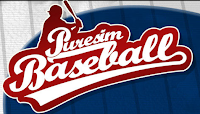 puresim, baseball, video, game