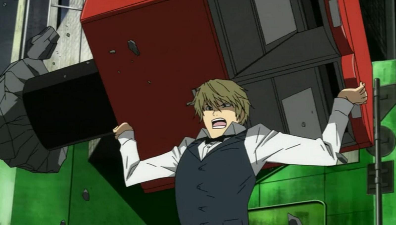 3ddba4d386da Spoilers  Durarara!!x2 Ketsu - Episode 1  Discussion    anime