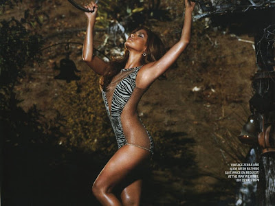 Eva Mendes magazine photo shoot