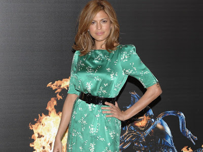 Eva Mendes background Ghost Rider