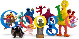 Sesame Street Google Celebrated