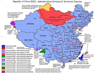 Map Of China And Mongolia.Mongolia And Taiwan Geopolitical Ambiguity Squared Geocurrents