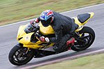 Bobby Hynson at Track Day