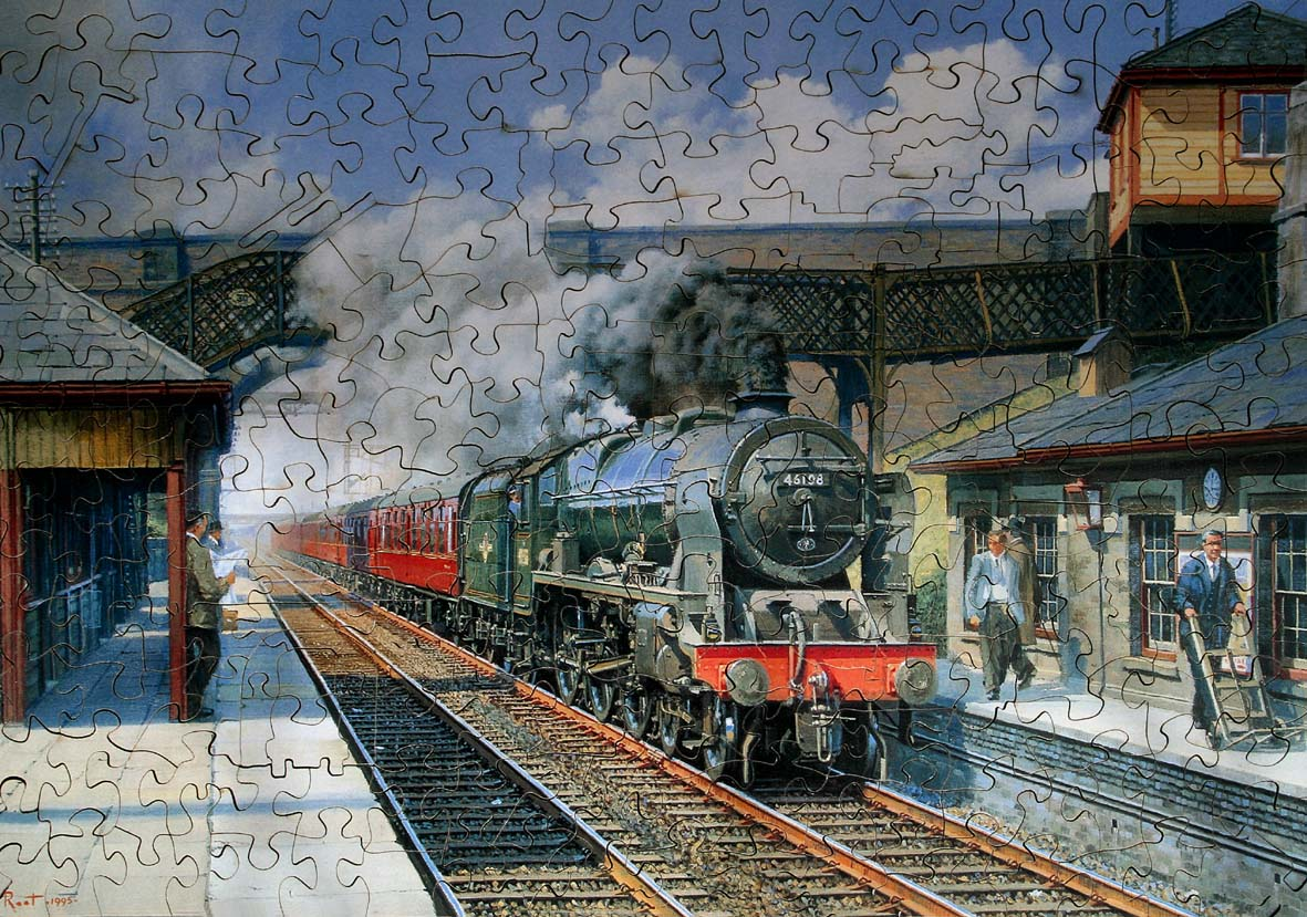 Steam Trains And Jigsaw Puzzles Wentworth Chad Valley