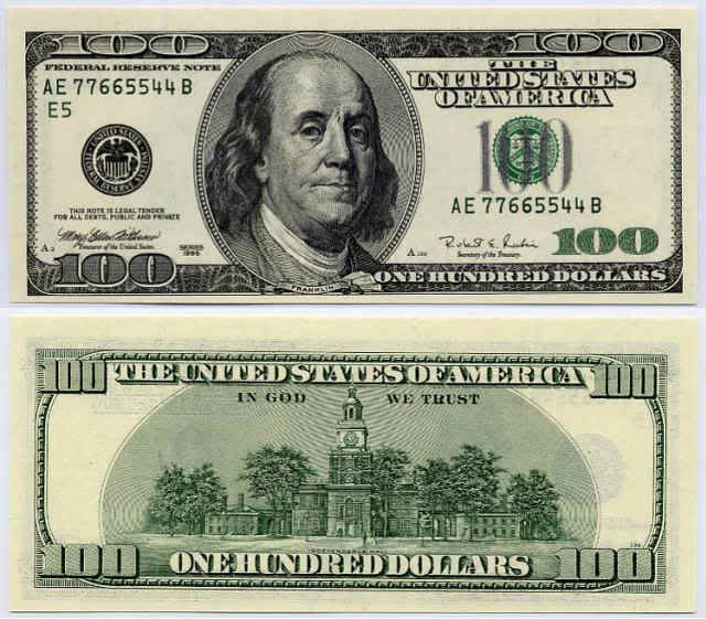 Twenty Dollar Bill Template Front And Back
