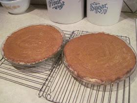Mum in Bloom ~: Pumpkin Pie (without Evaporated Milk!)