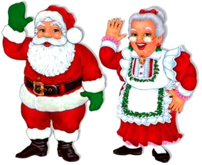 Fabulous Carly's PE Games: Santa and Mrs. Claus (Christmas Tag Game) TV83