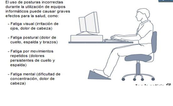 Ergonomia Para Pc Consecuencias De La Mala Postura